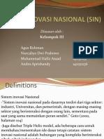 Sistem Inovasi Nasional (Sin)