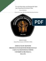 PROPOSAL PENELITIAN - Leading Sector Jawa Timur