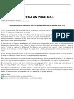 Ministério Bullón Espera Un Pocomas Ago 28 2017