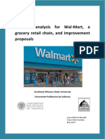 Business Analysis for Walmart