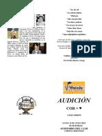 AUDICIÒN CORO 2014-15