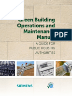 Green Building OM Manual PHA Southwest