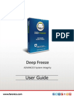 Faronics DeepFreeze  Manual