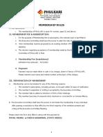 Phulkari Membership Form