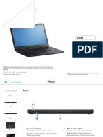 Inspiron 15 3521 Reference Guide en Us