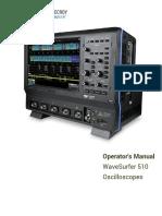 Wavesurfer 510 Operators Manual