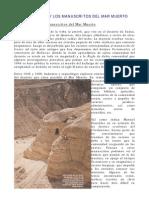 Esenios y Manuscritos Del Mar Muerto