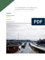 Durabilidad y Desempeño Con Fibras de Acero Para Pavimentos de Concreto