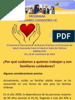 Programa Familiares Cuidadores Uc