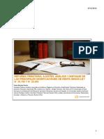 Reforma Tributaria, Ajustes, Análisis y Enfoque de Las Principales Modificaciones de Renta Según Ley n y n