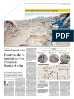 Rastros de La Inmigración China en Santa Anita