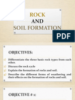 Rock and Soil Formation