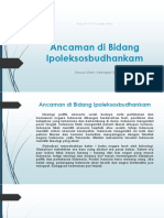 Ancaman di Bidang Ipoleksosbudhankam.pptx