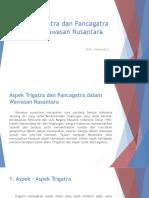 Aspek Trigatra dan Pncagatra dalam Wawasan Nusantara.pptx