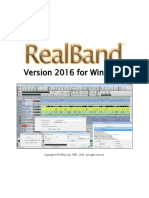 RealBand User's Guide