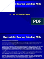 Ball Mill Hydrostatic Slide Shoe Bearing