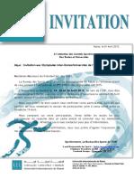 UIR - Invitation Olympiades 2015