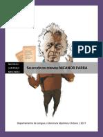 Selección de Poemas NICANOR PARRA