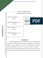 O Connor v. Uber Order Denying Plaintiffs Mot for Preliminary A