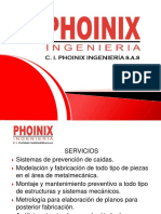 Presentacion c.i. Phoinix Ingenieria s.a 1
