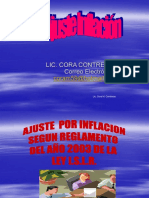 Curso Ajuste Inicial Por Inflacion 2010 Ceate