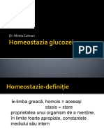 2.Homeostazia glucozei