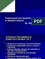 10.Tratamentul noninsulinic