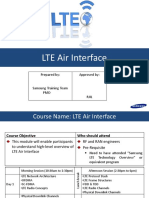 LTE Air Interface