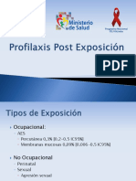 6. Profilaxis Post Exposición