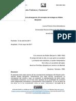 SILVA MONTELLANOS, LEONEL PATRICIO - El Pensamiento de La Divergencia. El Concepto de Teología en Walter Benjamin (Dossier Filosofía Judía)