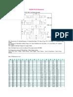 BS4504 PN 25 Dimensions