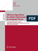 Efficient Algorithms for Global Optimization Methods in Computer Vision