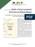Sensibilidade e Força Na Poesia Feminina de Moçambique
