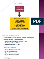 Gambaran Klinis Malaria