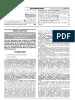 D.S. Nº 86-2017-PCM