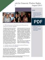 RN-DWR Newsletter n.1