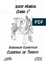 1º Lenguaje Musical (Cuaderno Teoría)