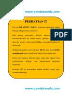 Soal UMPN Rekayasa Polsri 2015 Kode A