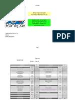 Budget 2009 de l'association