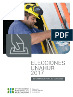 Elecciones 2017-Nodocentes