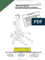 Manual Operador Montacargas Series 2100 Sumner