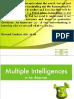 Multiple Intelligences Workshop