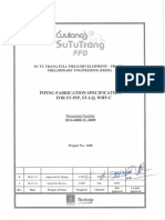 2014-4800-1L-0009 Rev B Pipipng Fabrication Specification for ST-PIP, ST-LQ, WHP-C_Approved