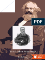 Tesis Sobre Feuerbach (Version - Karl Marx