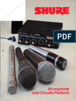 1985 Microphones and Circuitry Products