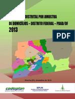 Pesquisa PDAD-DF 2013