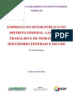 Estudo Sobre Emprego No Setor Público Do Df - Vf