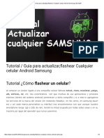 Tutorial _ Guia Para Actualizar,Flashear Cualquier Celular Android Samsung _ NeoStuff