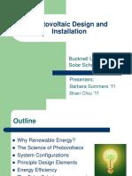 2009 Solar Scholars Presentation
