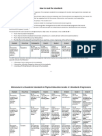 k-5 physical education edited standards
